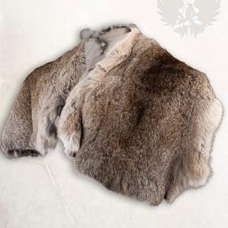 gris col fourrure