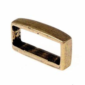 Boucle de ceinture, argenté, 2 ceintures cm