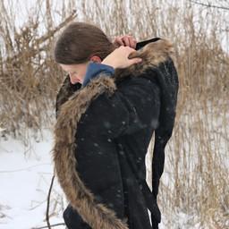 Frakke Lilian med pels
