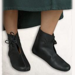 Middeleeuwse schoenen Einhard zwart