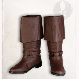 Pirackie buty Jack brązowy
