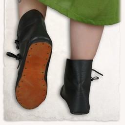 Medieval ankle boots Heinrich black