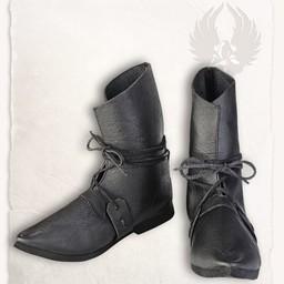 botas medievales Johann negro