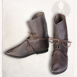 botas de color marrón medieval Johann