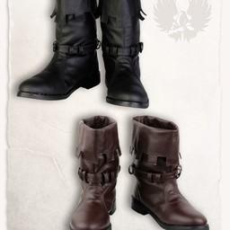 Middeleeuwse laarzen Martin bruin