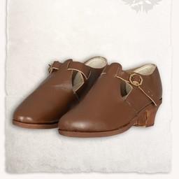 Barock skor Muriel brun
