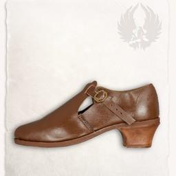 Barokke sko Muriel brun