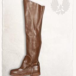 Musketeer støvler Porthos brun