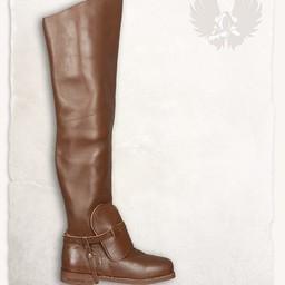 Musketiers laarzen Porthos braun