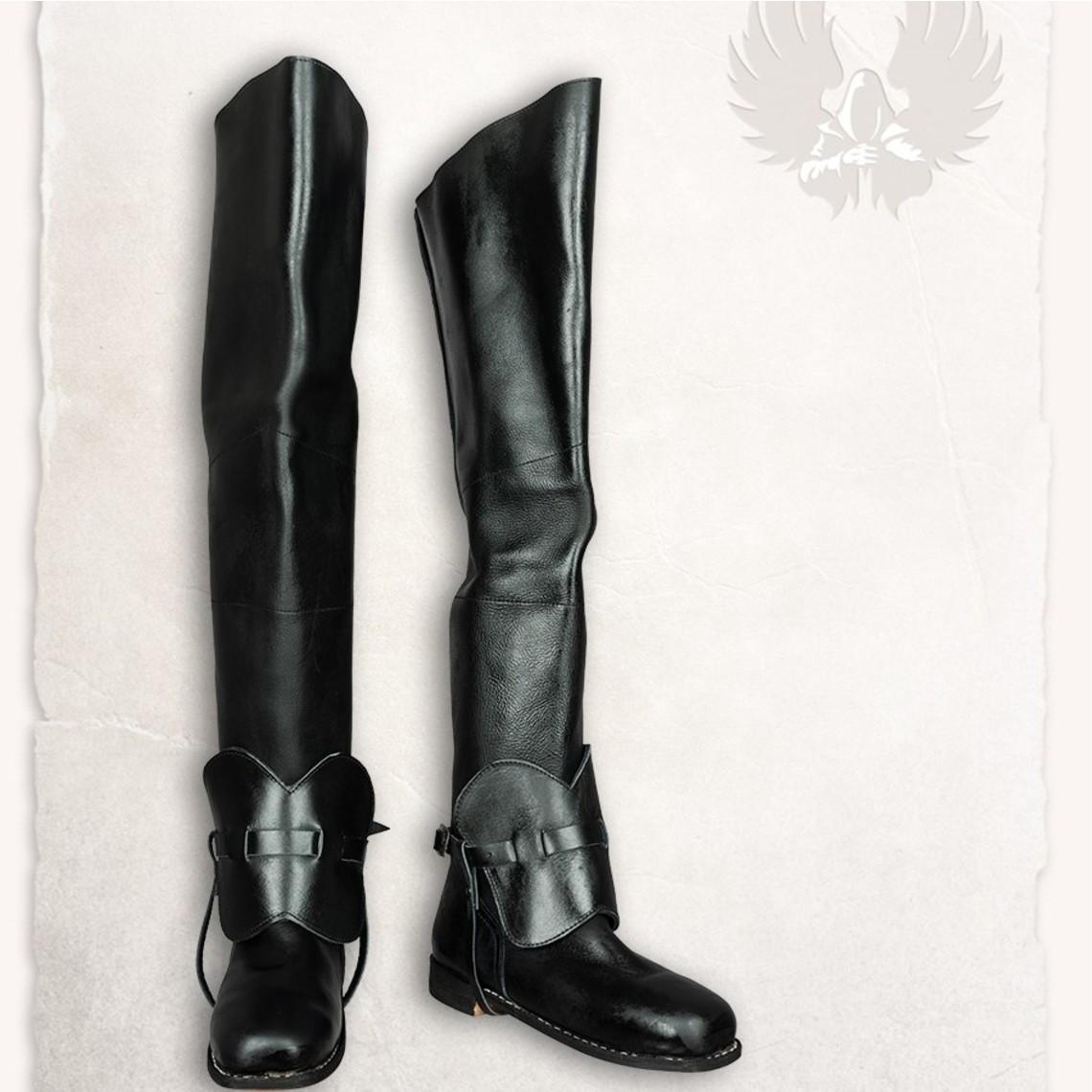 Mytholon Musketier Stiefel Porthos schwarz