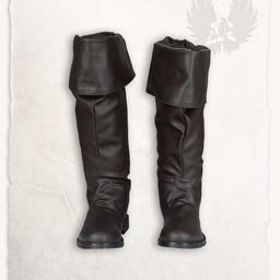 Pirackie buty brązowy Prescott