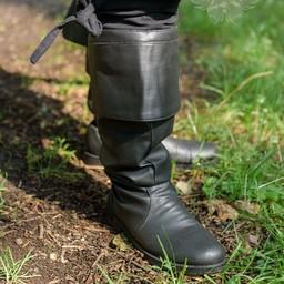 botas de pirata negro Prescott