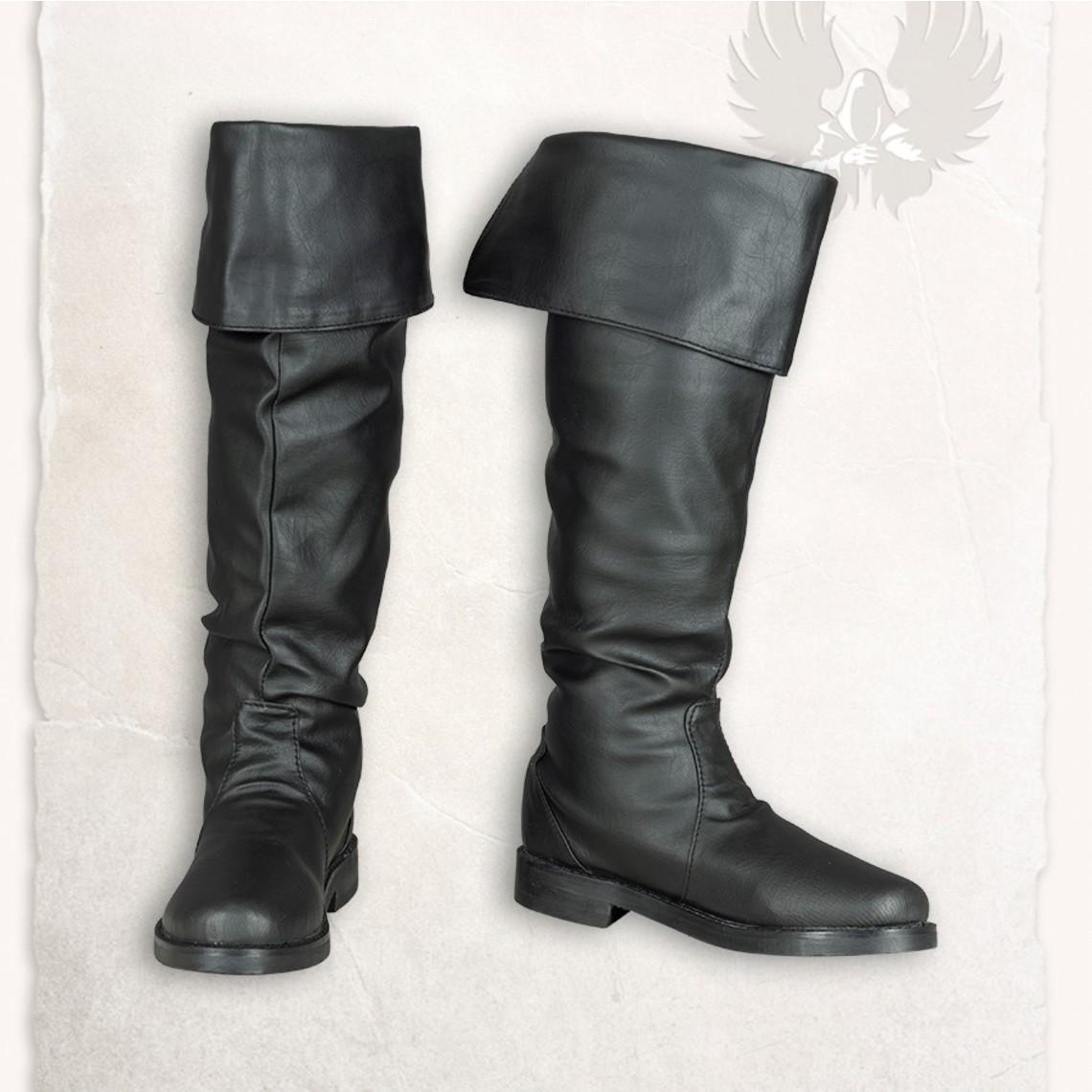 Mytholon Piraten-Stiefel schwarz Prescott