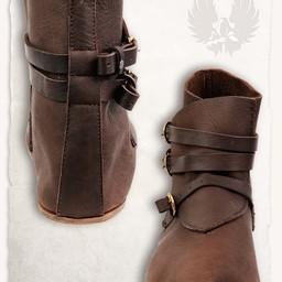 botines medievales Raimund marrón
