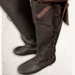 Middeleeuwse laarzen Tilly zwart