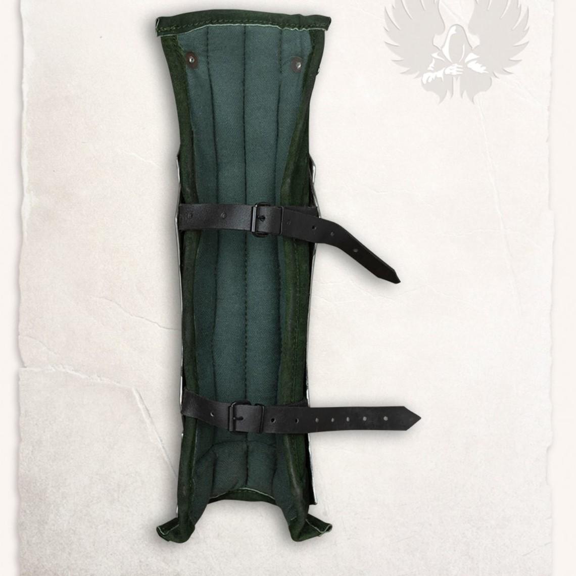 Mytholon Fafnir scheenbeschermers groen