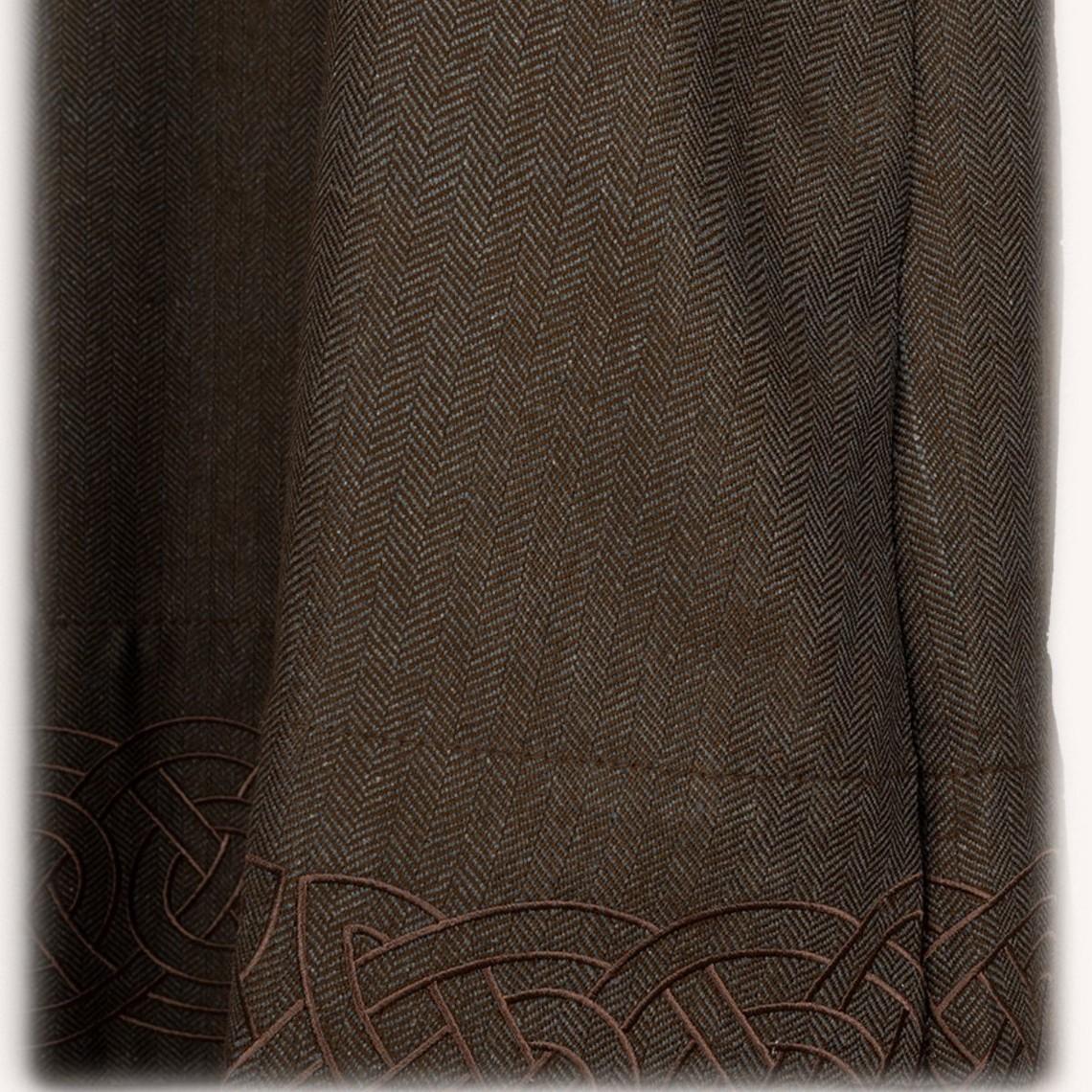 Mytholon Hangeroc Alva vissegraatmotief bruin