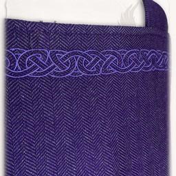 Hangeroc Alva herringbone motif lilac