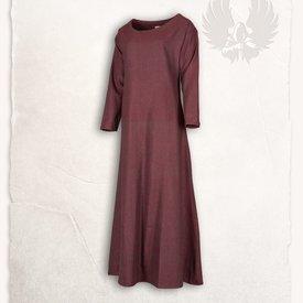 Mytholon Viking jurk Lenora vissegraatmotief rood