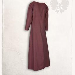 Viking jurk Lenora vissegraatmotief rood