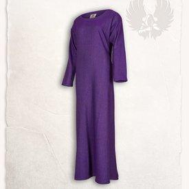 Mytholon Viking jurk Lenora vissegraatmotief lila