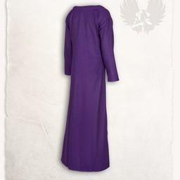 Lenora Viking dress lilac, herringbone