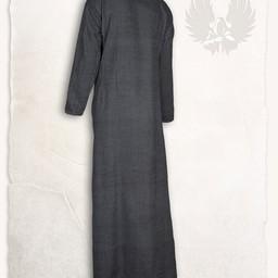 Sukienka Lenora Viking czarna, motyw w jodełkę