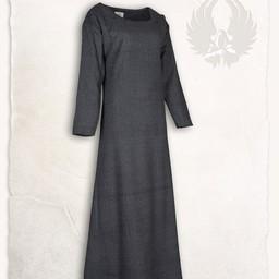 Lenora Viking Kleid schwarz, Fischgrätenmotiv
