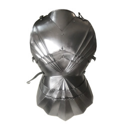 Gothic cuirass with backplate