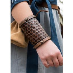 Leren armband Cenric