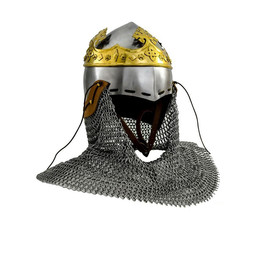 Bascinet helmet Robert the Bruce