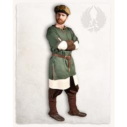 Medievale tunica Sigbert, verde