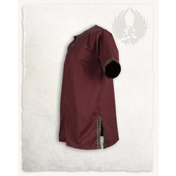 Medieval tunika Sigbert, czerwony