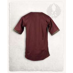 Middeleeuwse tuniek Sigbert rood
