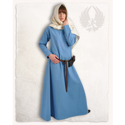 Wikinger Kleid Lenora, hellblau