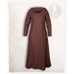 Vikingklänning Lenora, brun