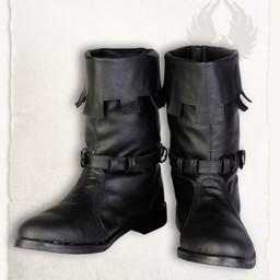 botas de Martin medievales negro