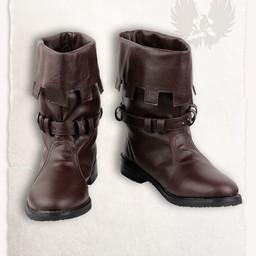 Średniowieczne buty Martin brązowy