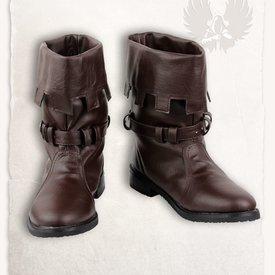 Mytholon Middeleeuwse laarzen Martin bruin