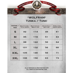Tunic Wolfram red