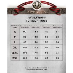 Tunika Wolfram rot