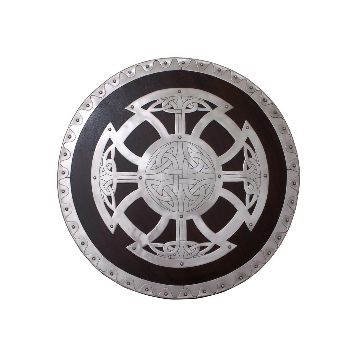 Ulfberth Viking shield with knot motif