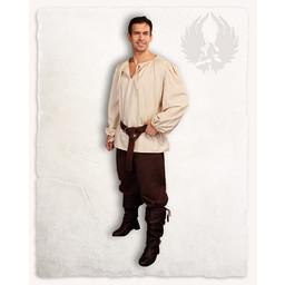 Pirate skjorte Rafael creme