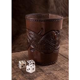 De Viking dados taza