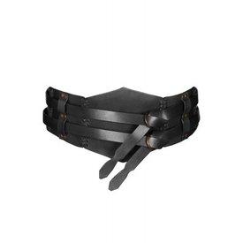 Ulfberth Medieval belt Elena, black