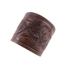 Ulfberth Viking Armschienen mit Jellinge Drachen