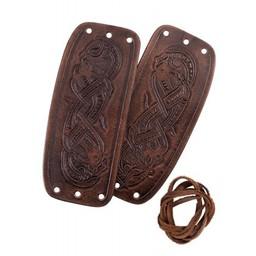 Viking Armschienen mit Jellinge Drachen