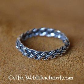Viking ring med knude mønster