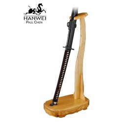 CAS Hanwei Oak wooden stand for Odachi
