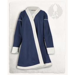 De Viking caftan Rasoul, lana, azul